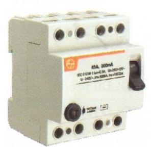 L&T 25A Four Pole 300 mA RCCB, BG402530