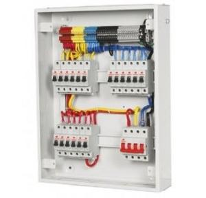 Havells Double Door TPN 4W Distribution Board, DHDMTHMKDRA04