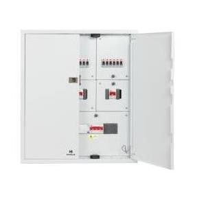 Havells Double Door 6W Distribution Board, DHDMTHDDRW06