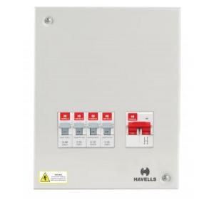 Havells Single Door SPN 2+12W Distribution Board, DHDCSHOSRW12