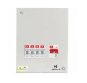 Havells Single Door SPN 2+4W Distribution Board, DHDCSHOSRW04