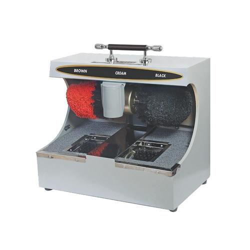 Avro 60Wx2 Stainless Steel Automatic Shoe Shine Machine With Sole Cleaner, SS-4