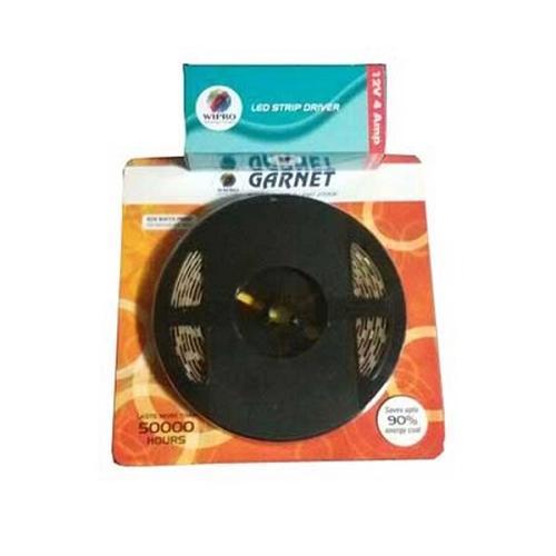 Wipro Garnet 25W LED Strip Light 5 mtr, D42827 With 12V 2A Driver, H43520