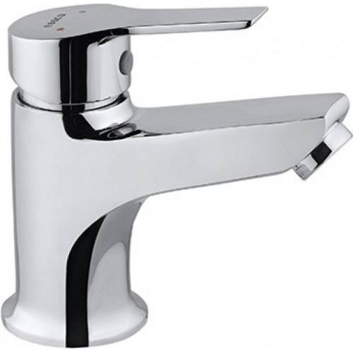 Jaquar Single Lever Basin Mixer Without Pop Up Waste With 450mm Long Braided Hoses Apr Ess