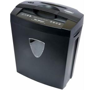 Bambalio 8 Sheets Paper Shredder Machine, BCC-014 (Black)