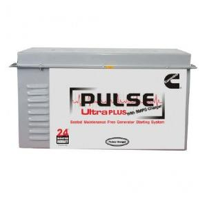 Cummins Pulse 24V 32Ah Ultra Plus Genset Battery With SMPS Charger, AX1013235