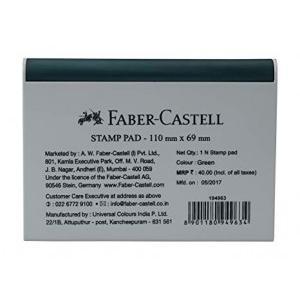 Faber Castell Stamp Pad, 110x69 mm (Green)