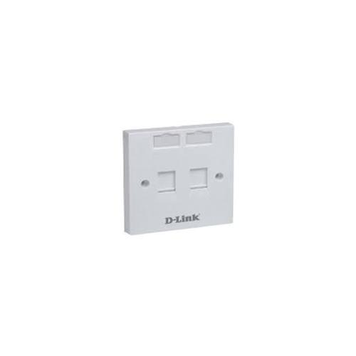 D-Link Dual Face Plate, NFP-0WHI21