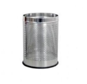 ZIH SS Perforated Hamper Bin, 12x28 Inch