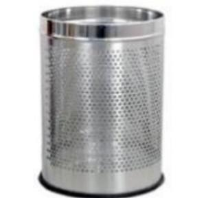 ZIH SS Perforated Hamper Bin, 6x8 Inch