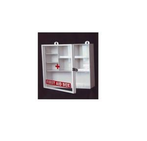 First Aid Plastic Box With Acrylic Door 15x15x4 Inch, Thickness: 4mm