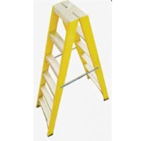 Youngman FRP Twin Double Side 4 Step Ladder 1.20 m, FRPD04IY