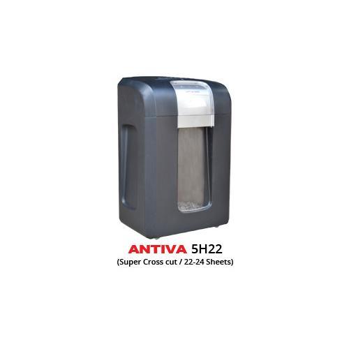 Antiva Super Cross Cut Paper Shredder Machine 22-24 Sheets, 5H22