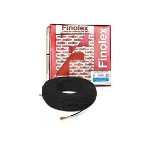 Finolex 6 Sqmm 3 Core PVC Insulated Sheathed Flat Cable, 100 mtr