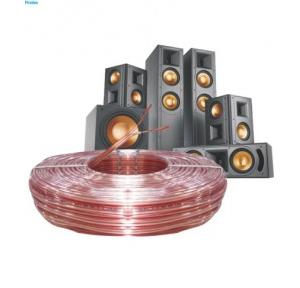 Finolex 2.5 Sqmm Speaker Cable, 100 Mtr (Transparent)
