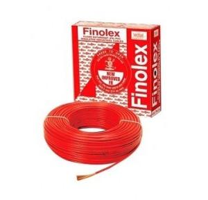 Finolex 1.5 Sqmm 1 Core FR PVC Insulated Unsheathed Flexible Cable, 90 Mtr (Red)