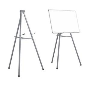 Tripod Portable Whiteboard Stand MS Policated, 5 Ft (Grey)