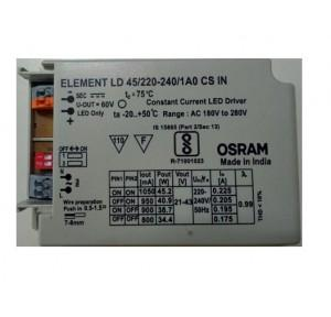 Osram Constant Current LED Driver 34-45W 21-43V, LD 45/220-240/1A0 CS IN