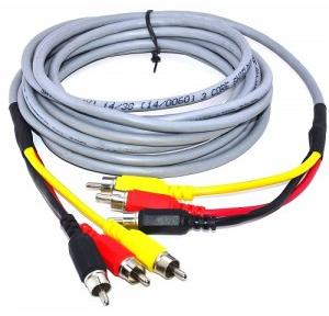 Audio Video AV Cable RCA to RCA, 10mtr