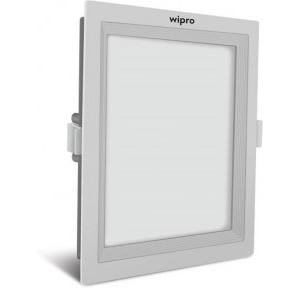 Wipro Garnet Wave Slim Square Panel Light 10W, D721060 (Coolday Light)