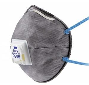 3M Pollution Mask With Carbon Filter 9922 N95
