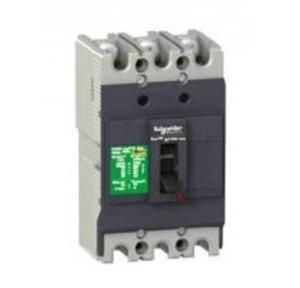 Schneider AC MCCB With Fixed TMD EasyPact NKS 125A 3 Pole 10kA, NKS160R125AC3P