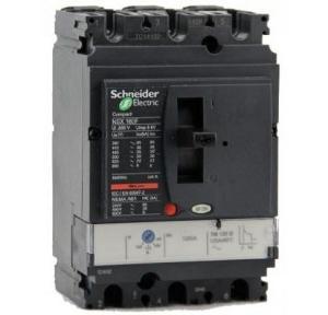 Schneider AC MCCB With Fixed TMD EasyPact NKS 25A 3 Pole 10kA, NKS100R025AC3P