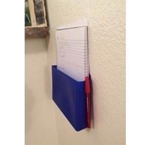 Wall Holding Acrylic Suggestion Box Blue 40x25x3 cm, Thickness: 3mm