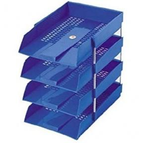 Office Tray PP With Steel Risers