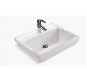 Kohler Parliament Vessels Lavatory With Single Faucet Hole 564x442 mm, K-14715IN-1-0