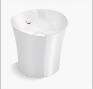 Kohler Veil Vessel Basin Without Faucet Hole, K-20703-0