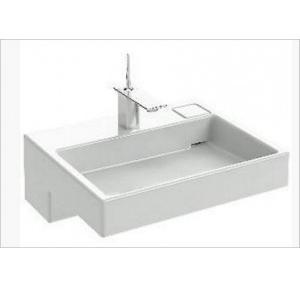 Kohler Terrace Vanity Top Basin With Single Faucet Hole 600x89x490 mm, K-XE112IN-V-0