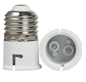Bulb Holder Plastic B22-E27 Base (White)
