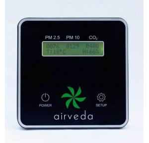 Airveda Air Quality Monitor PM2.5 PM10 CO2, PM2510CTH
