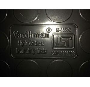 Vardhman Electrical Insulation Rubber Mat 11kV IS:15652, Size: 1x2 mtr, Thickness: 2.5mm (Black)