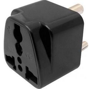 MX Universal Converson Plug 5A 3 Pin, MX-864 (Black)