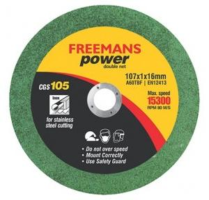 Freemans CGS105 Cut Of Wheels 4 Inch (Set of 50 Pcs)