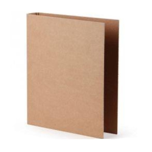 Worldone RB413 Kraft Ring Binder 2 D Ring, 25 mm, Size: A4