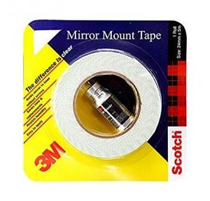 3M Double End Mirror Mount Tape, 24 mm x 5 mtr
