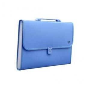 Worldone FL09H Expanding File with Handle & Lock, Size: A4