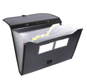 Worldone WAP006A3 PU Zipper Portfolio, Size: A3