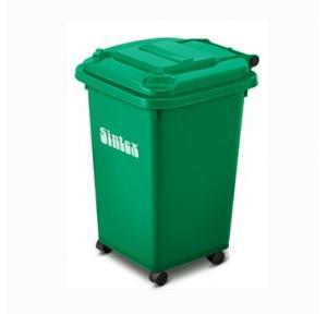 Sintex 2 Rubber Wheels Dustbin 100 Ltr, GBRW 10-04 (Green)