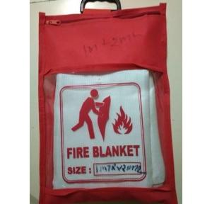 Fire Blanket ISI Approved (IS 15381:2003) 1.8x1.8mtr, Thickness: 3mm