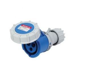 Havells 32A 2P+E Industrial Plug & Connector IP77, DHQDB63032