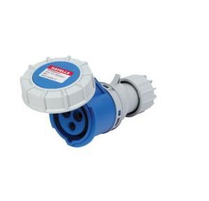 Havells 16A 2P+E Industrial Plug & Connector IP77, DHQDB63016 (Pack of 4 Pcs)