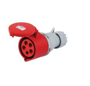 Havells 32A 3P+N+E Industrial Plug & Connector IP44, DHQDA65032