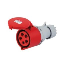 Havells 16A 3P+N+E Industrial Plug & Connector IP44, DHQDA65016