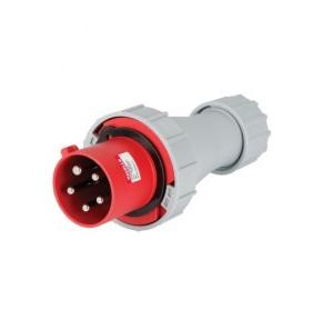Havells 63A 3P+N+E Industrial Plug & Connector IP77, DHQBB65063