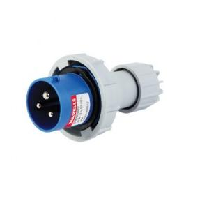 Havells 32A 2P+E Industrial Plug & Connector IP77, DHQBB63032