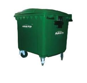 Aristo Wheels Waste Bin, 660 Ltr